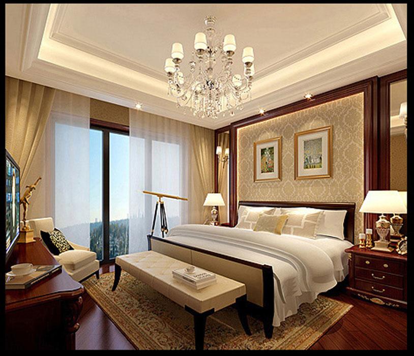 北京业之峰设计师_美式风格四居160平米房子装修效果图-靠山居-业之峰装饰北京分公司